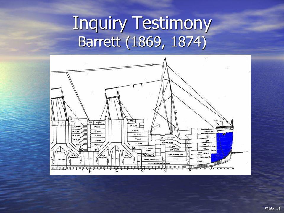 Slide 34 Inquiry Testimony Barrett (1869, 1874)