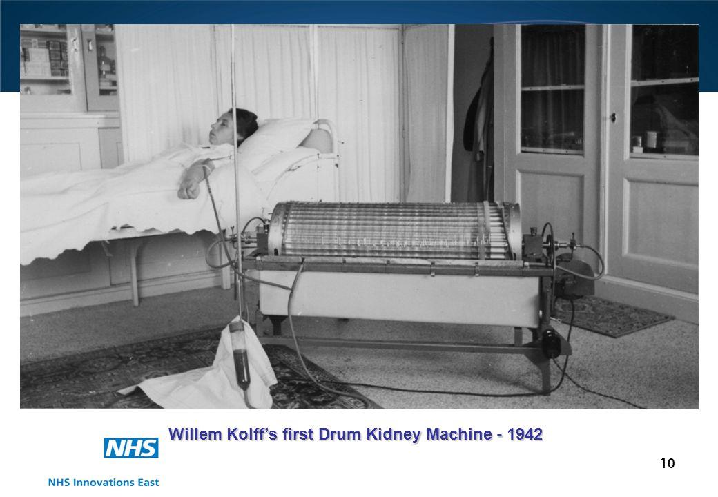 10 Willem Kolffs first Drum Kidney Machine - 1942