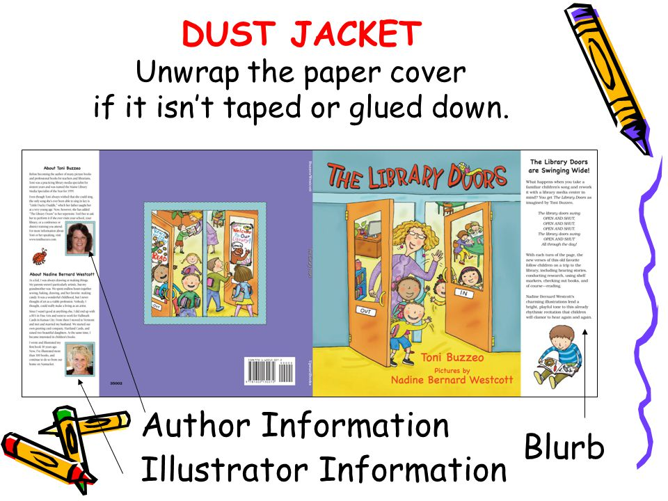 Author Information Illustrator Information Blurb