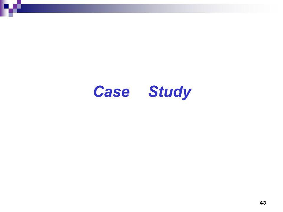 43 Case Study