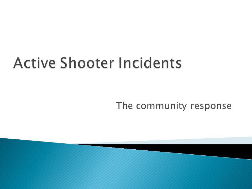 The community response