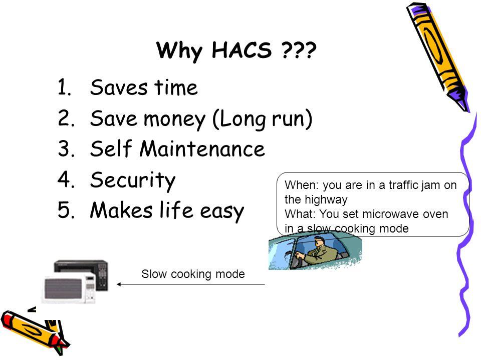 Why HACS .