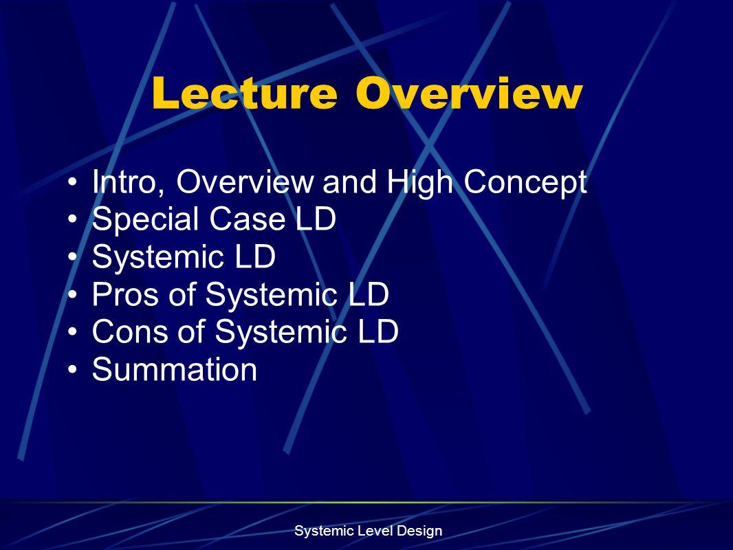 Systemic Level Design What if Frank Lloyd Wright Built Doom Levels.