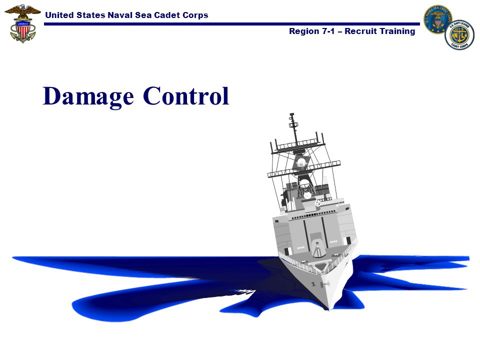 United States Naval Sea Cadet Corps Region 7-1 – Recruit Training Material Conditions of Readiness Purpose: Provides different degree of water- tightness and protection for the ship Has three degrees of readiness: XYZ