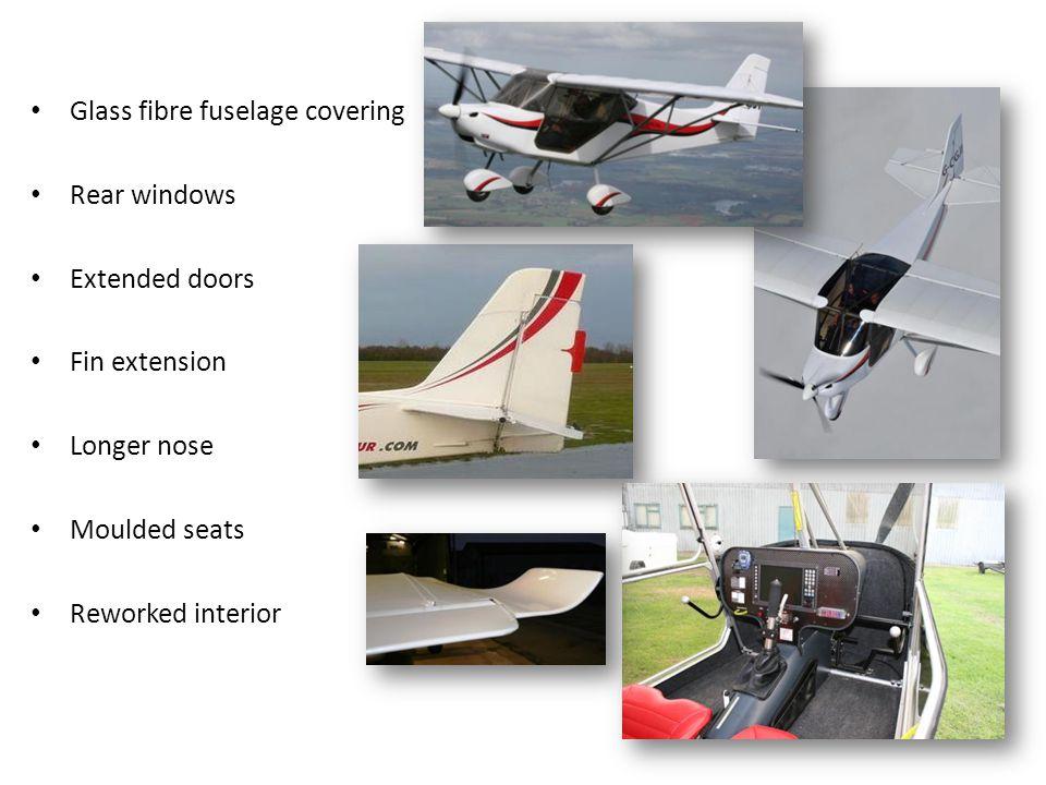 Rear fuselage geometry and bracing