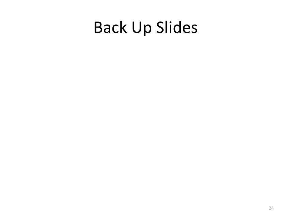 Back Up Slides 24