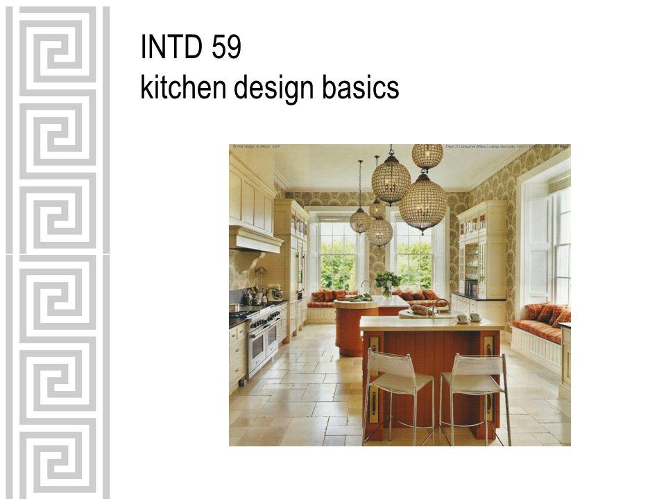 INTD 59 kitchen design basics