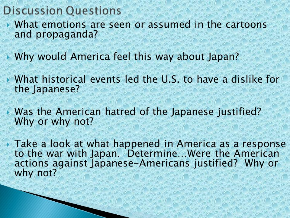 What emotions are seen or assumed in the cartoons and propaganda.