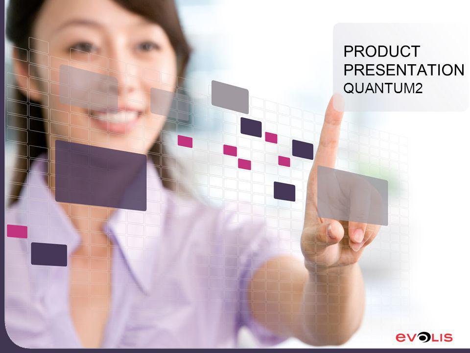 PRODUCT PRESENTATION QUANTUM2