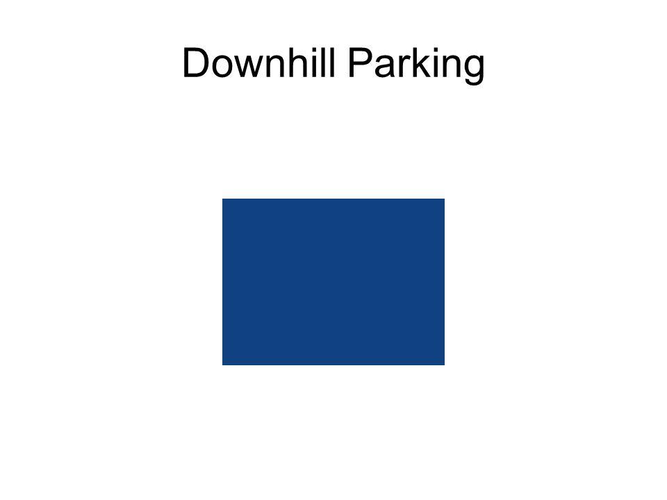 Downhill Parking