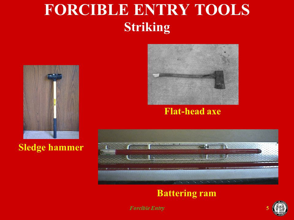 Forcible Entry16 WOOD DOORS Panel Slab Ledge