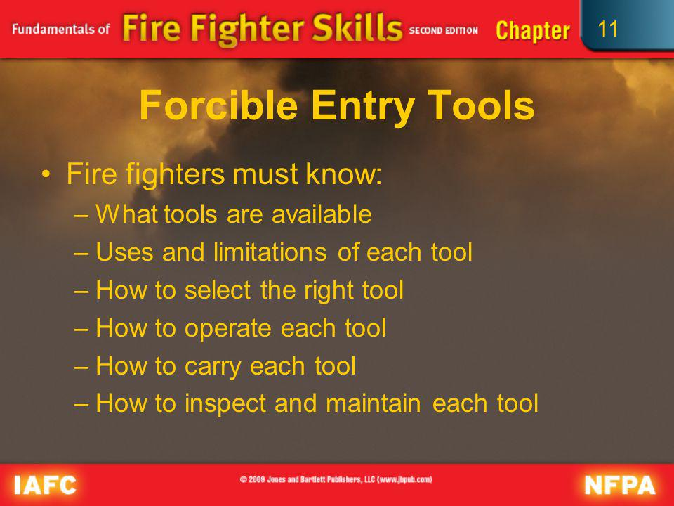 11 General Tool Safety Incorrect use or improper maintenance can be dangerous.