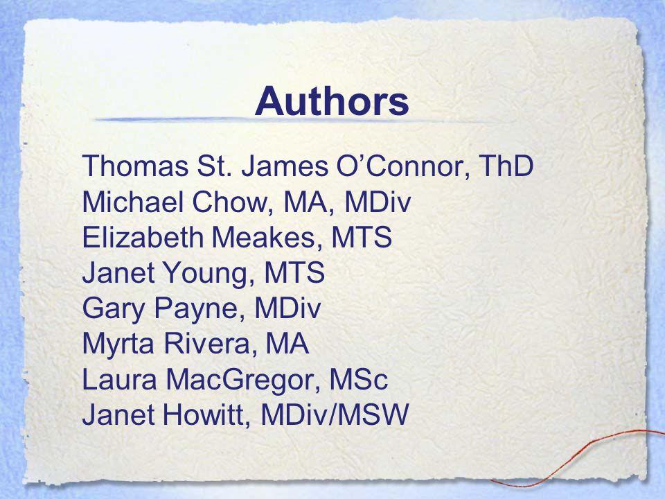 Authors Thomas St.