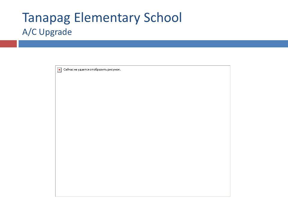 Tanapag Elementary School A/C Upgrade