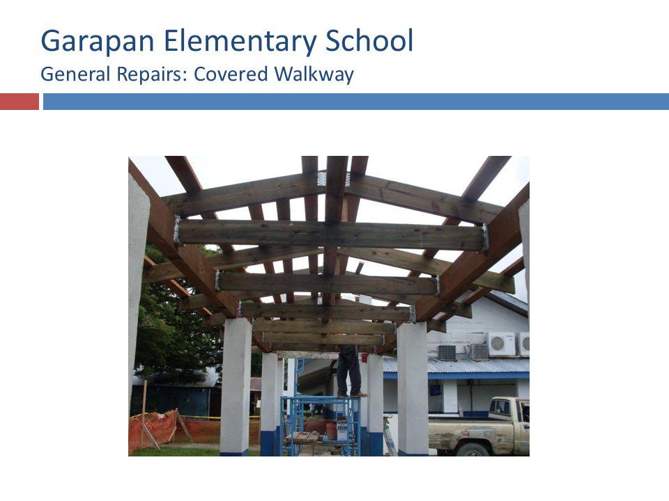Garapan Elementary School General Repairs: Covered Walkway