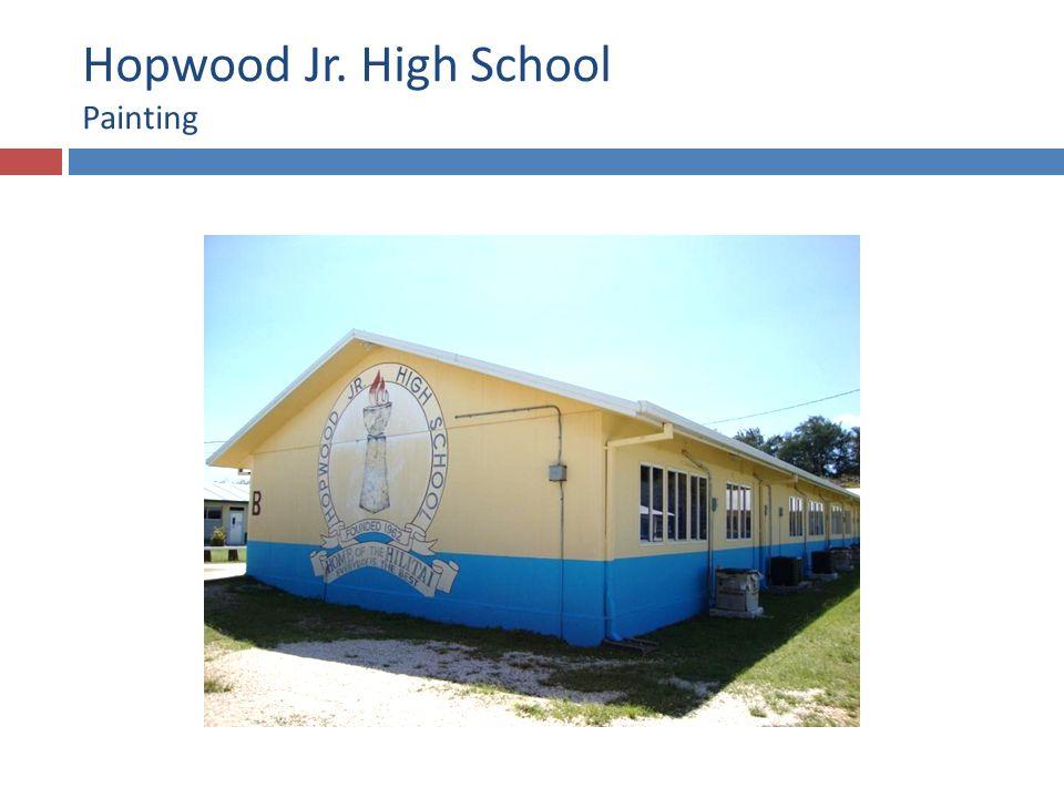 Hopwood Jr. High School Painting