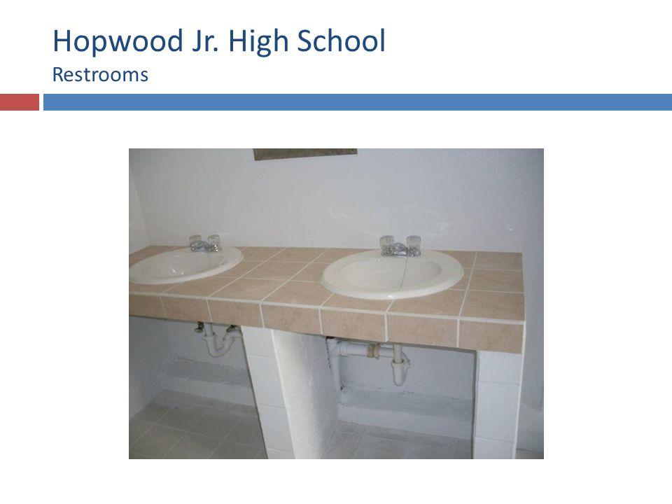 Hopwood Jr. High School Restrooms
