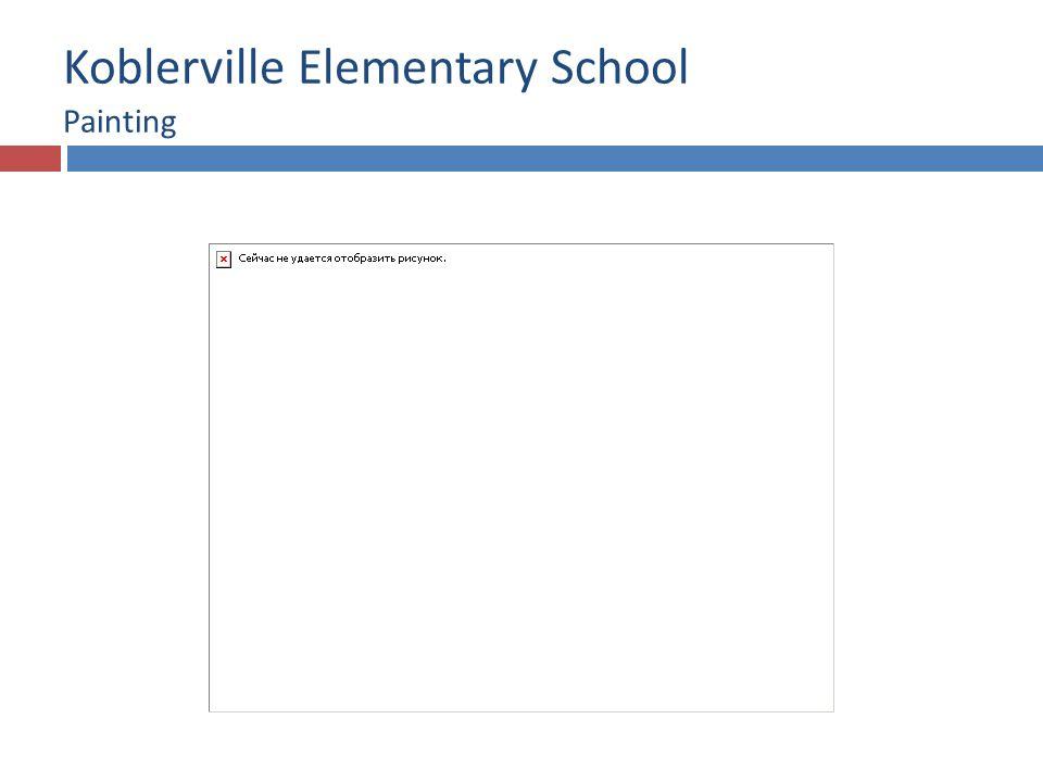 Koblerville Elementary School Painting