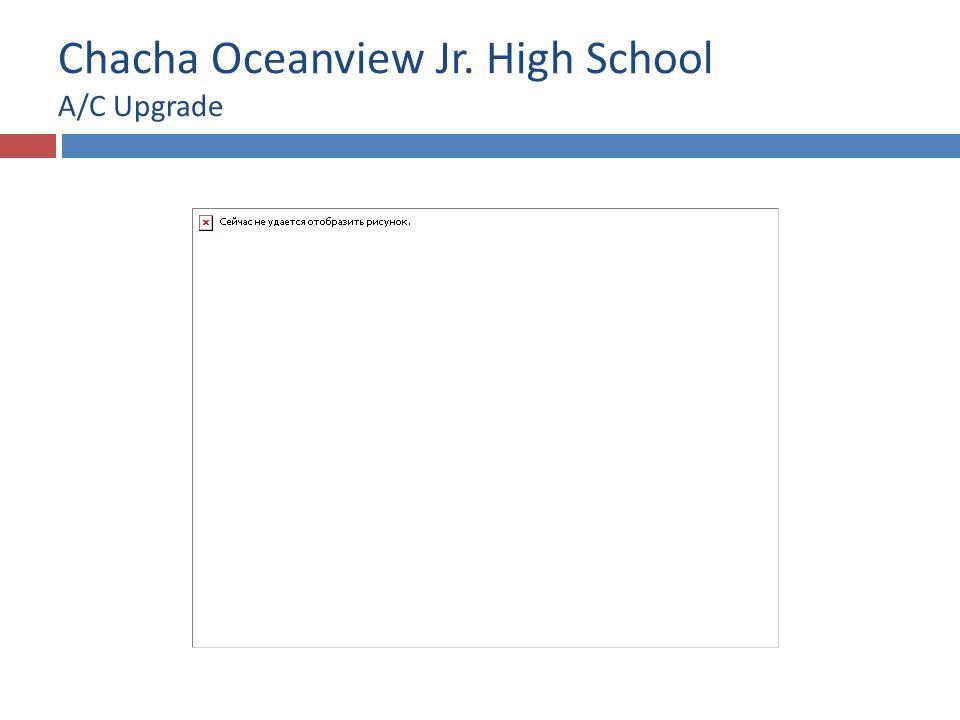 Chacha Oceanview Jr. High School A/C Upgrade