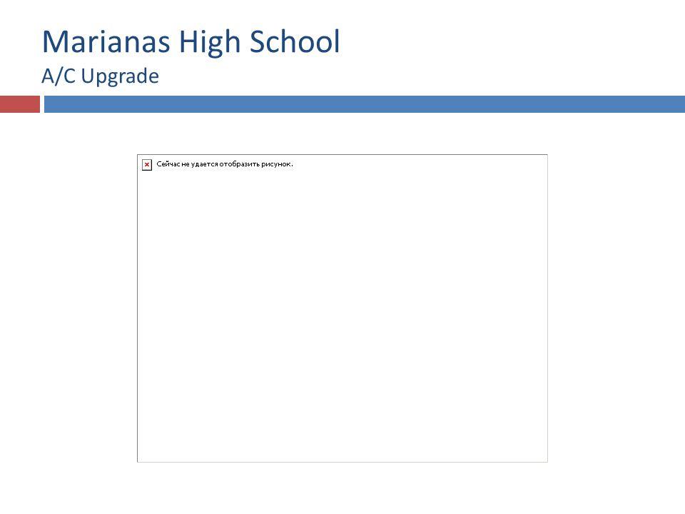 Marianas High School A/C Upgrade