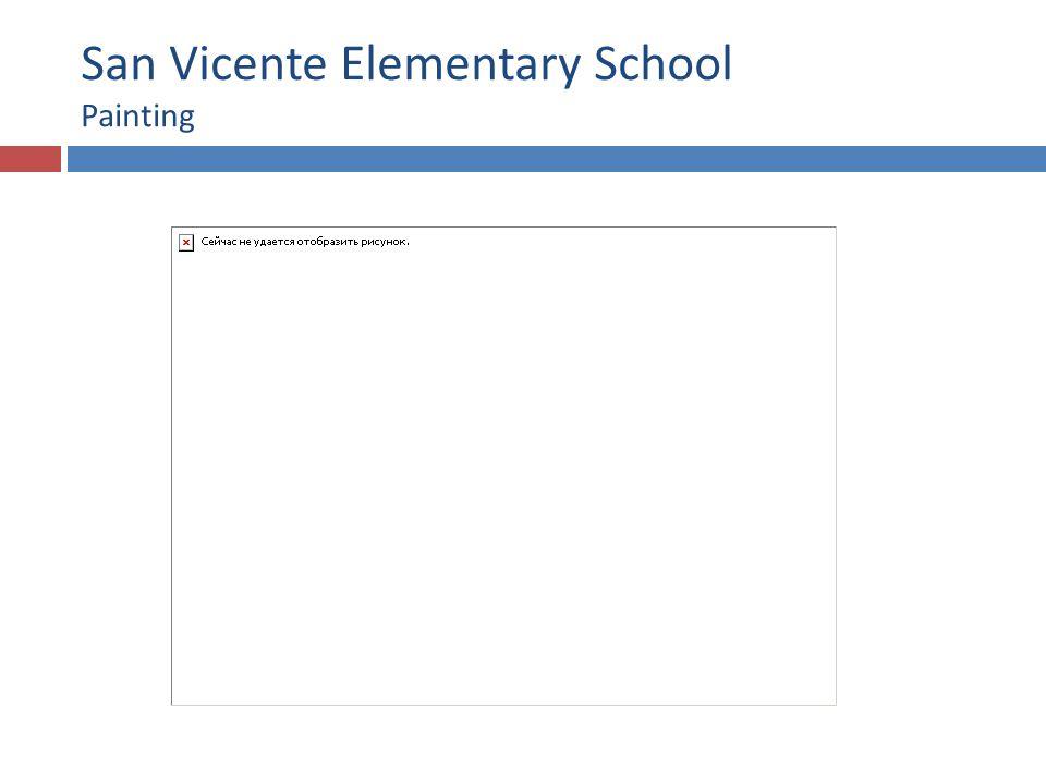 San Vicente Elementary School Painting