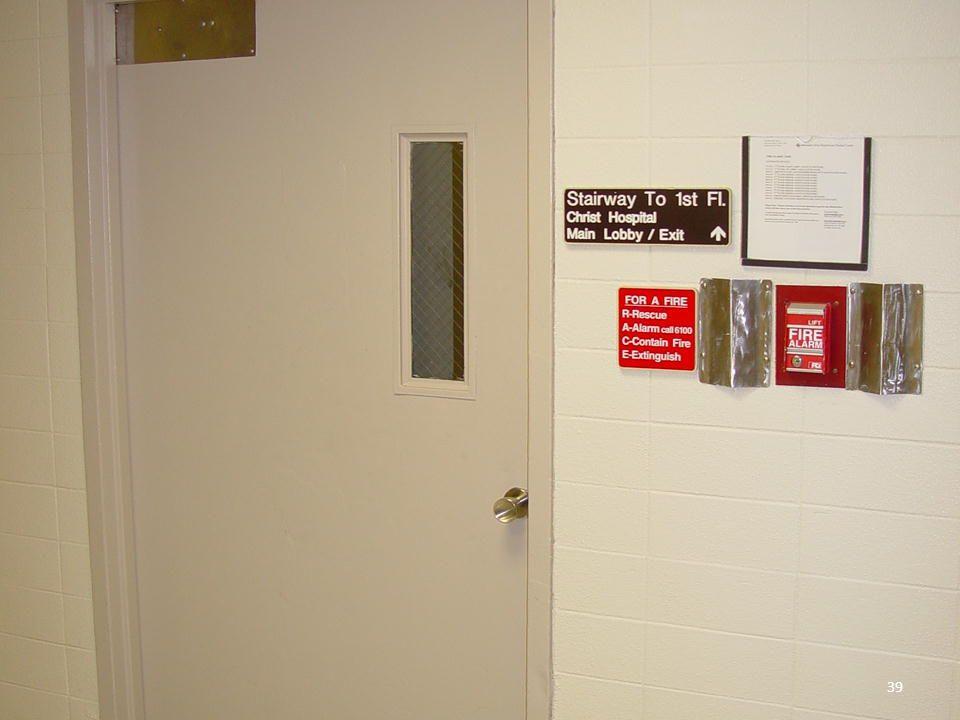 © SMS, Inc., 2013 39 29 – EXIT ACCESS DOOR 39