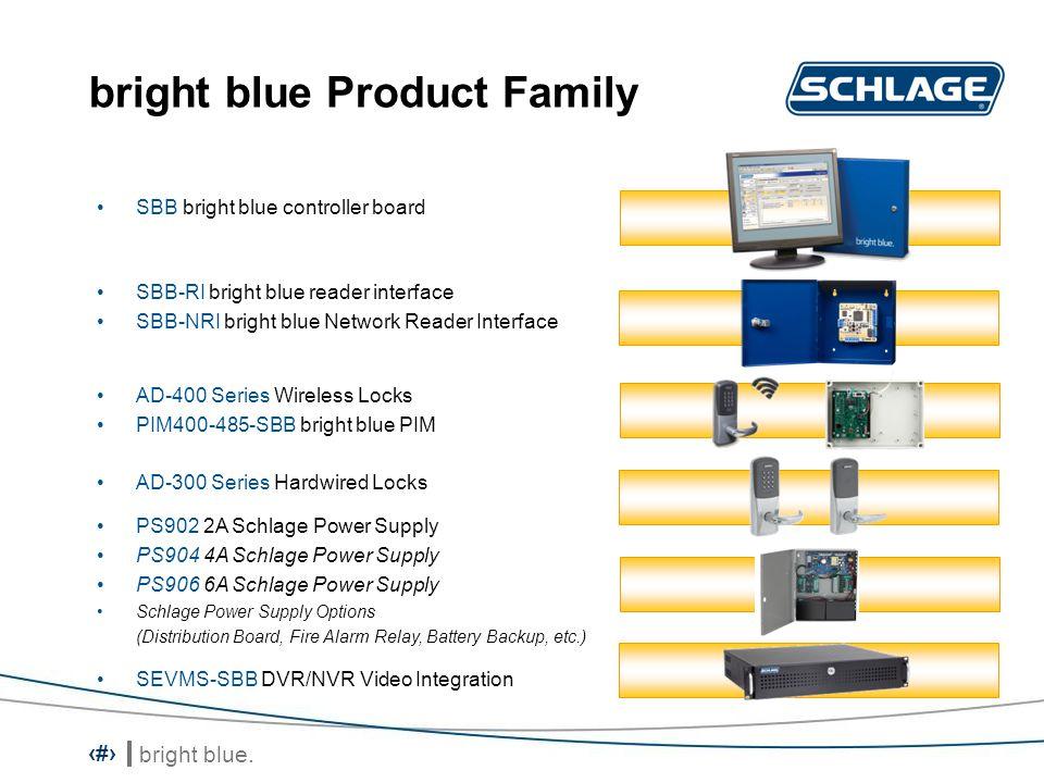 bright blue.