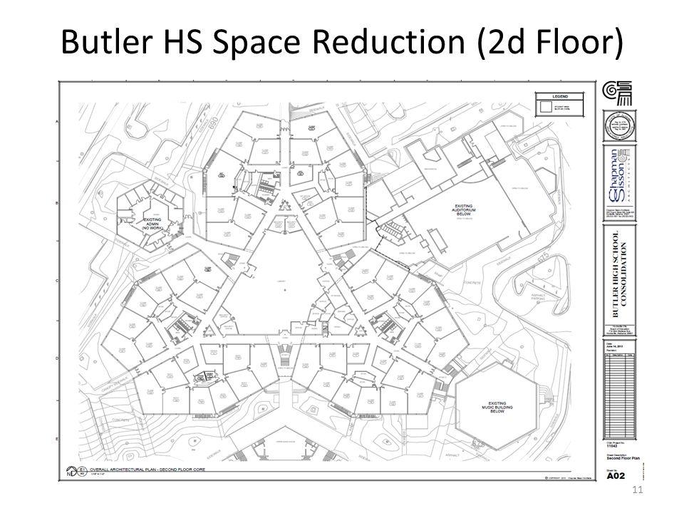 Butler HS Space Reduction (2d Floor) 11