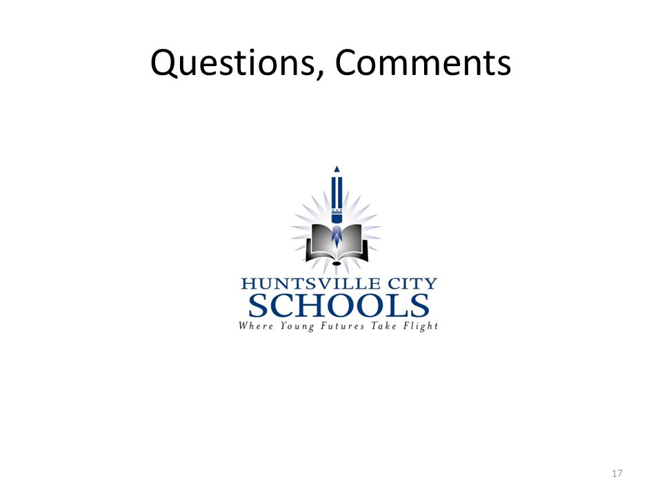 Questions, Comments 17