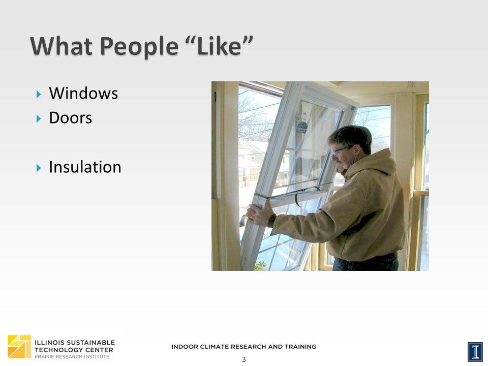 3 Windows Doors Insulation