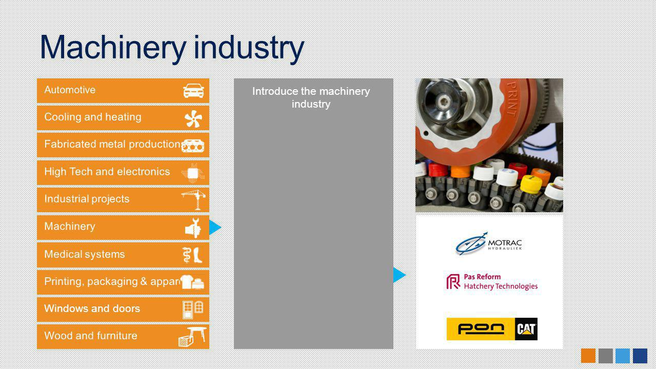 Windows and doors Introduce the machinery industry Machinery industry