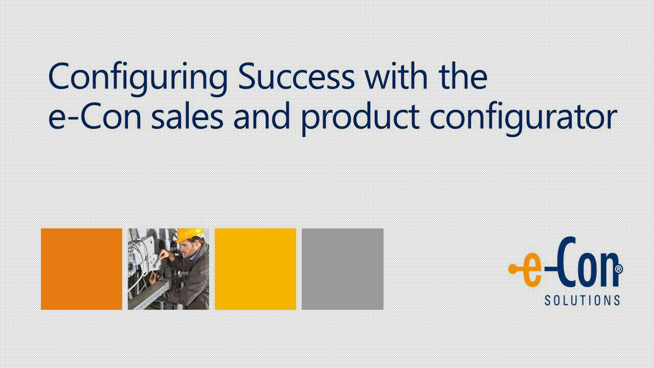 Success Story ORDER PROCESSING IN HALF THE TIME Arco Bijsterveld International Finance & IT Manager Larson Juhl We were searching for a solution that could help us create and manage orders easily–and our employees need the ability to configure accurate quotations, even if they dont have full knowledge of our product assortment.