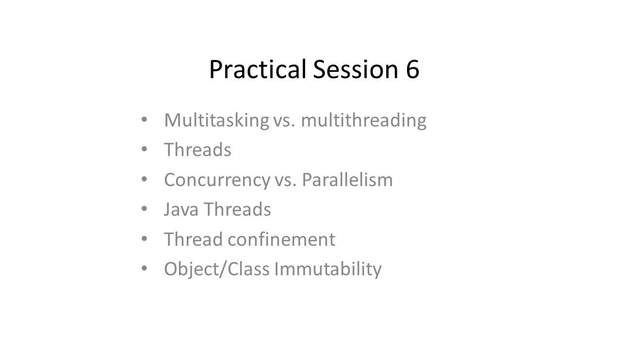 Multitasking vs.Multithreading Multitasking: – Running more than one process on same processor.