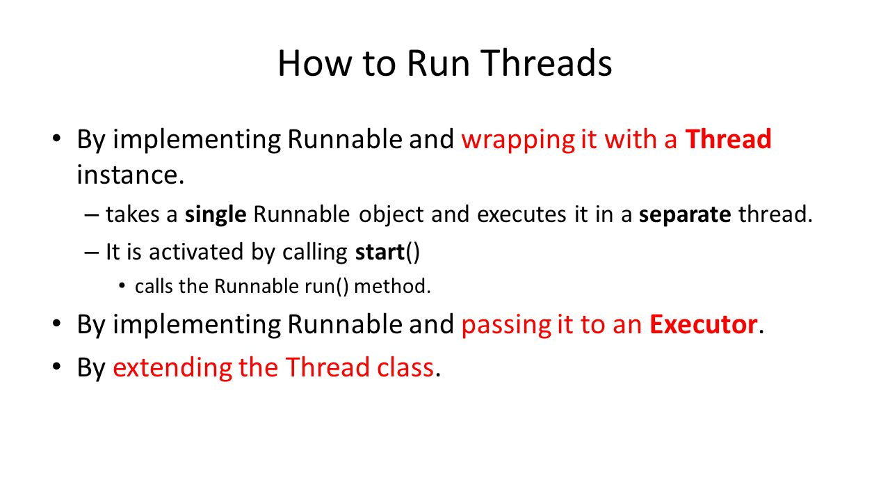 Shared Resources and Safety Safety problems arise when multiple threads access the same resource.