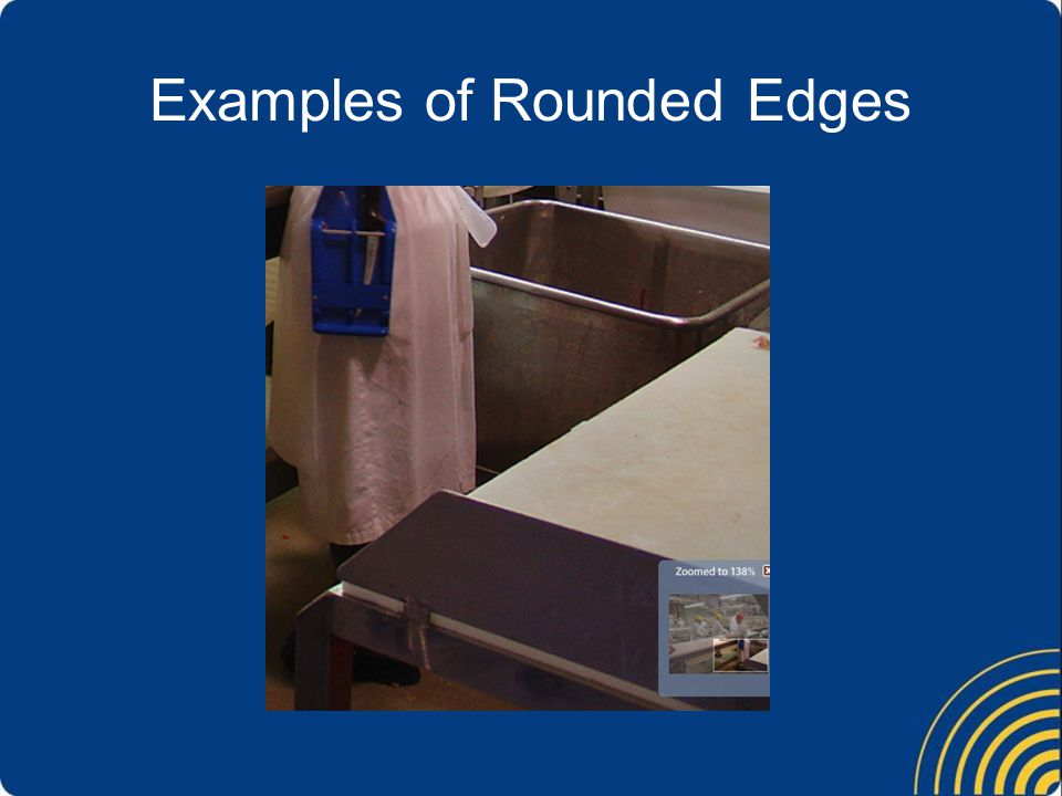 Examples of Rounded Edges