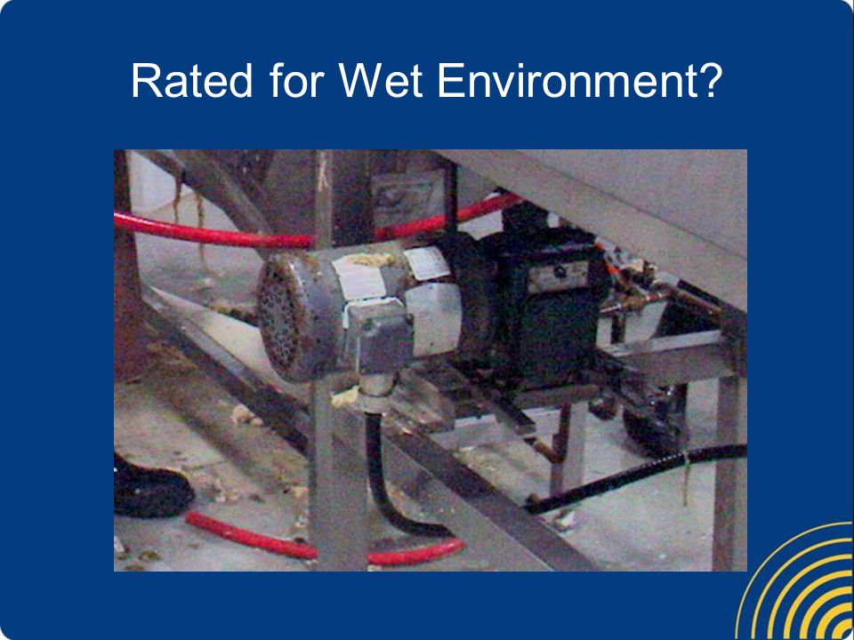 Rated for Wet Environment?