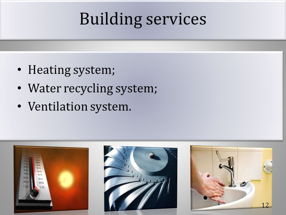 Building services.Heating system How do we improve the temperature control in our project.