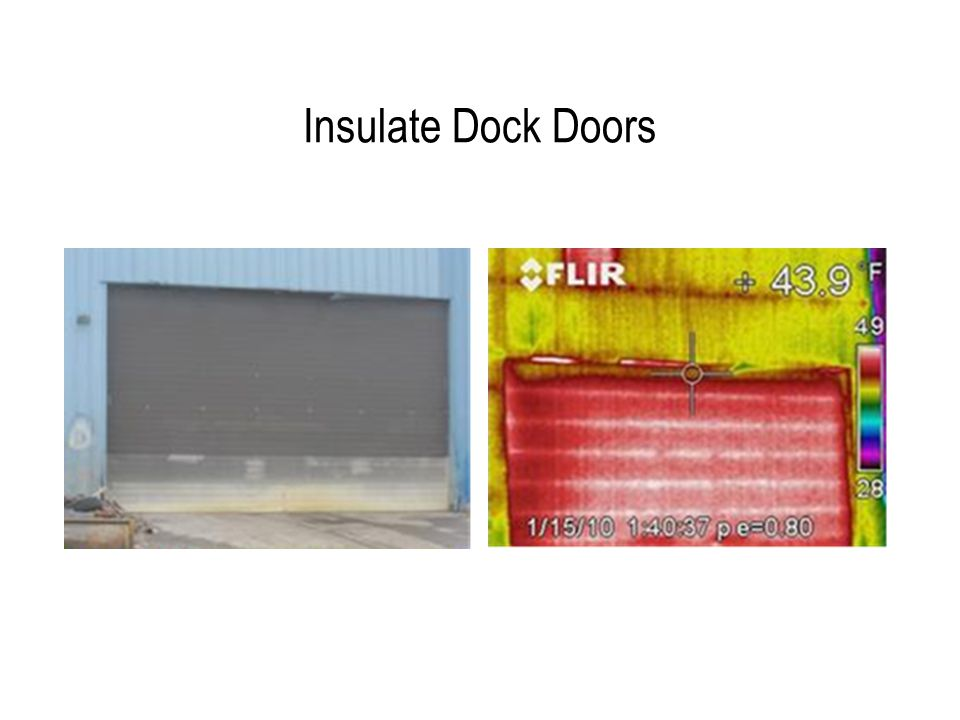 Insulate Dock Doors