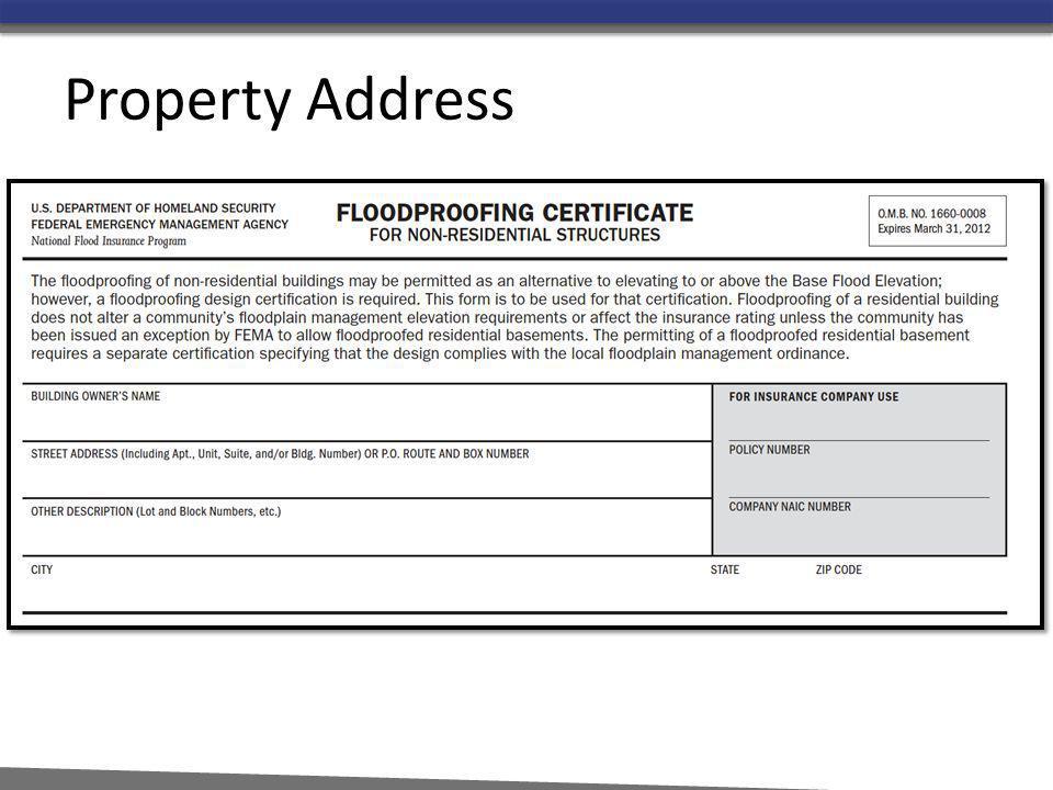 Property Address
