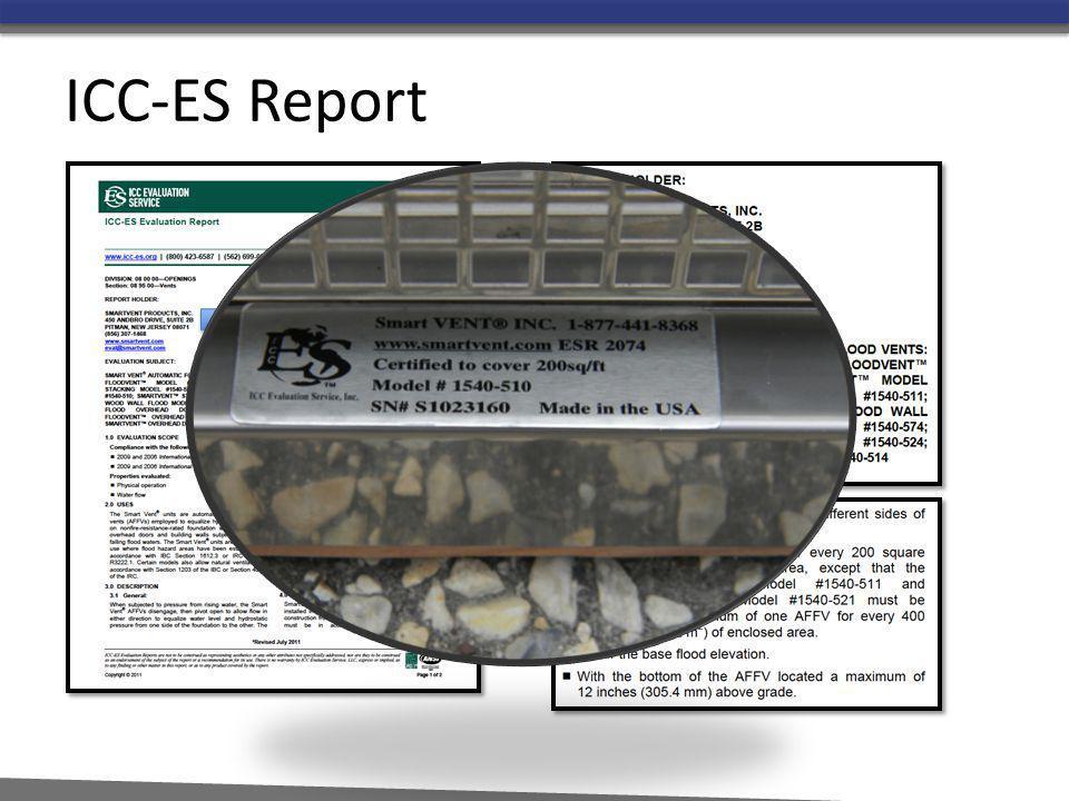 ICC-ES Report