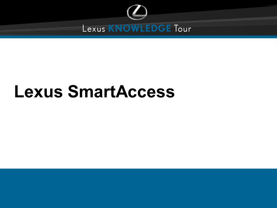 Lexus SmartAccess
