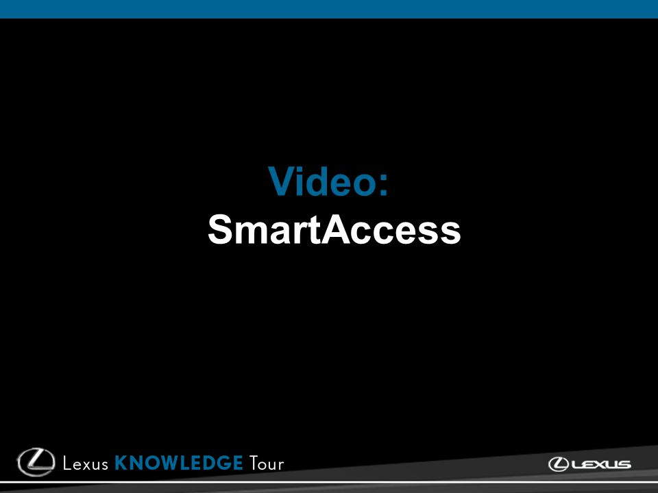 Video: SmartAccess