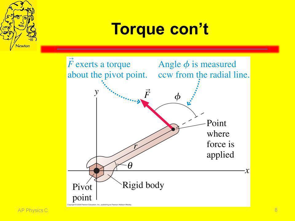 Torque cont AP Physics C 8