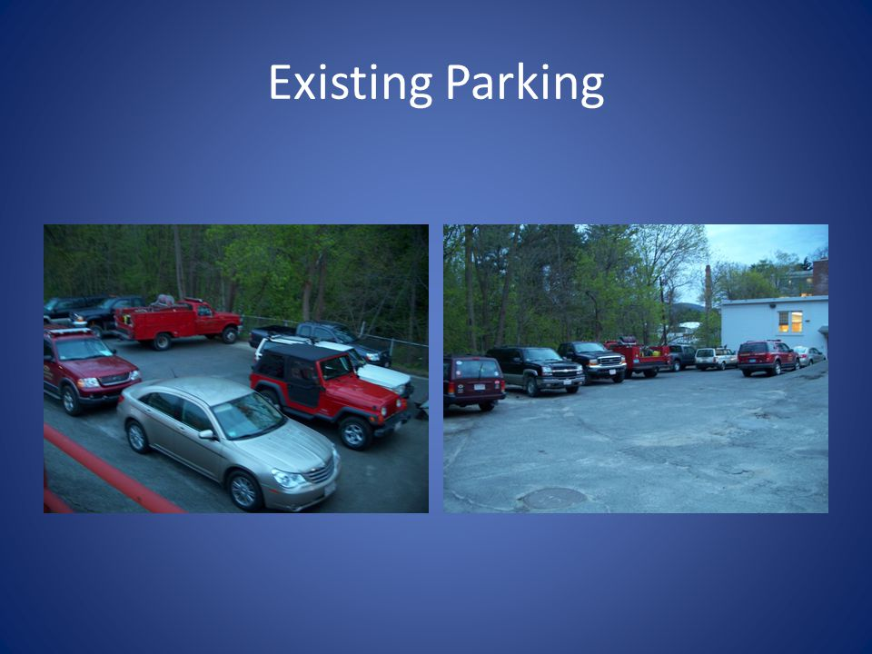 Existing Parking