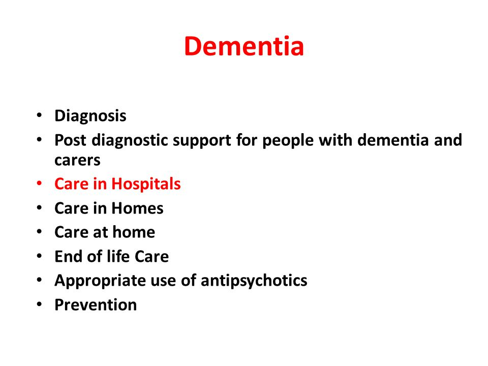 Known dementia All emergency admissions aged over 75 Dementia pathway Care as usual Has the person been more forgetful in the last 12 months to the extent that it has significantly affected their daily life.