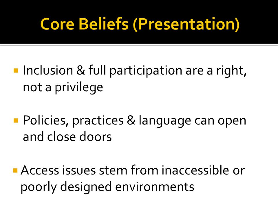 What policies & practices in DS office open doors for disabled students, ensuring inclusion & full participation.