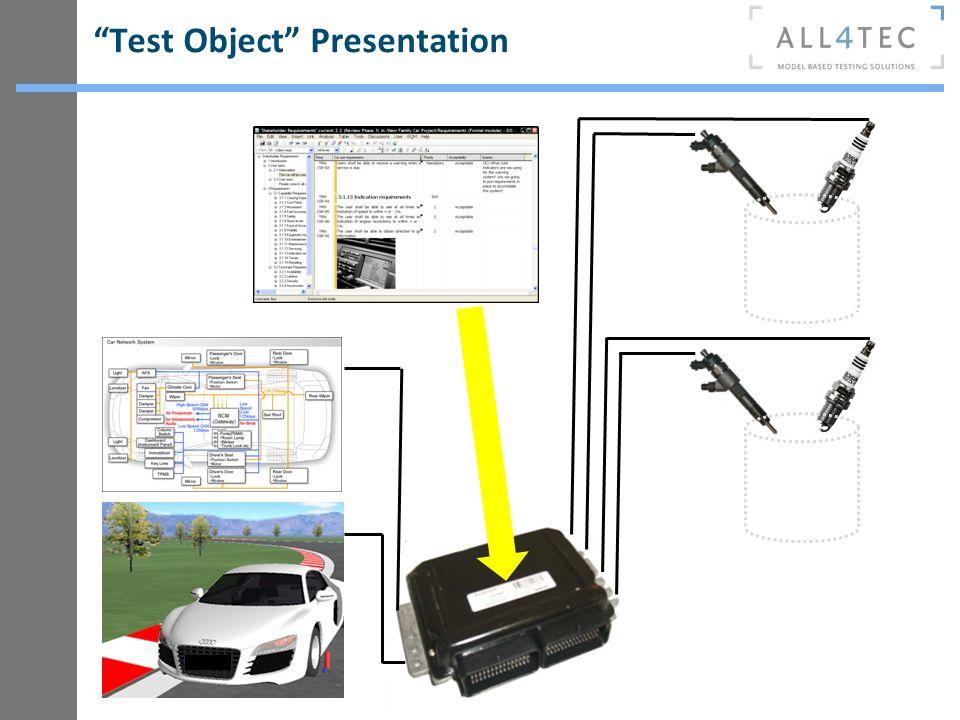 Test Object Presentation