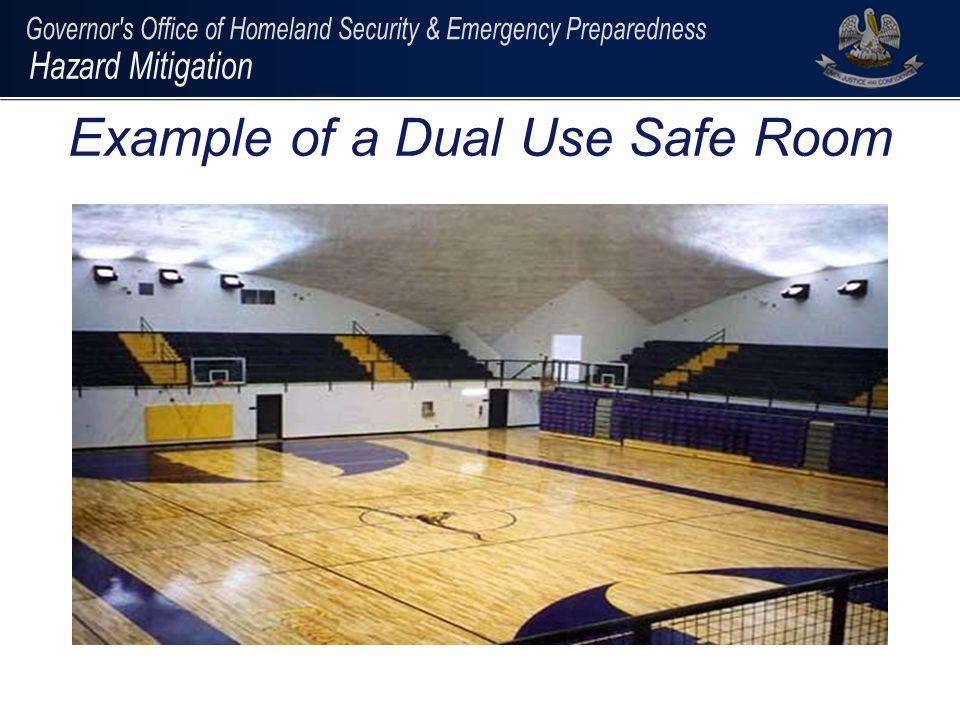 Example of a Dual Use Safe Room