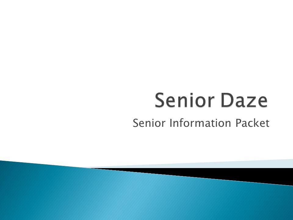 Senior Information Packet