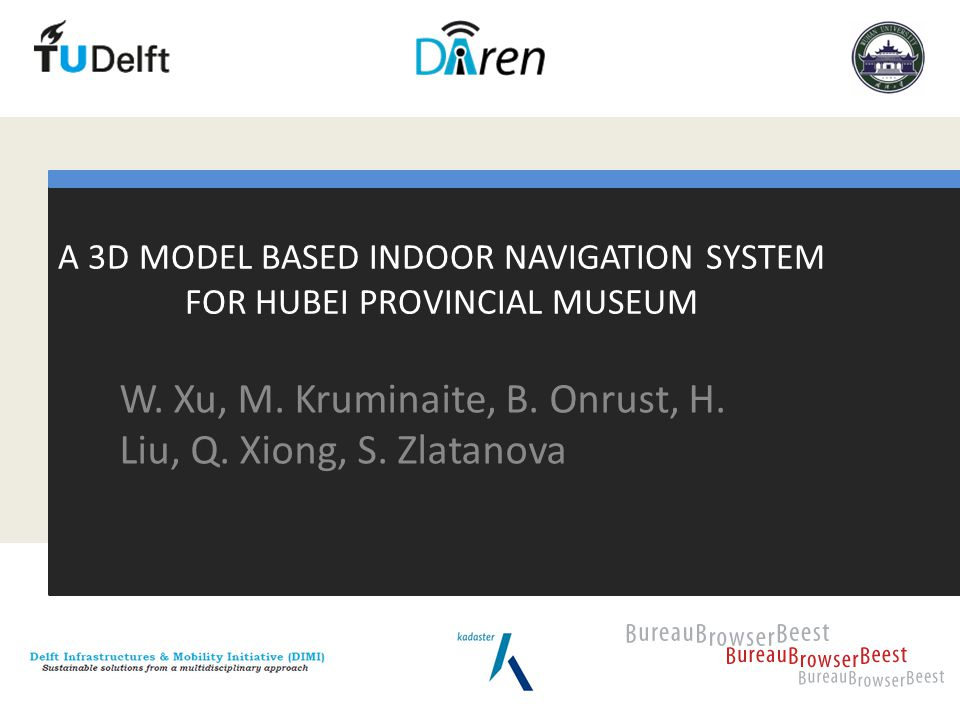 A 3D MODEL BASED INDOOR NAVIGATION SYSTEM FOR HUBEI PROVINCIAL MUSEUM W.